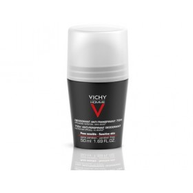 Vichy Homme Déodorant Bille anti traces 72h 50 ml lot de 2
