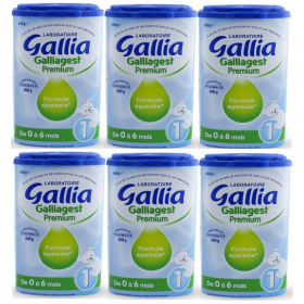 Galliagest 1er âge 800 g x6