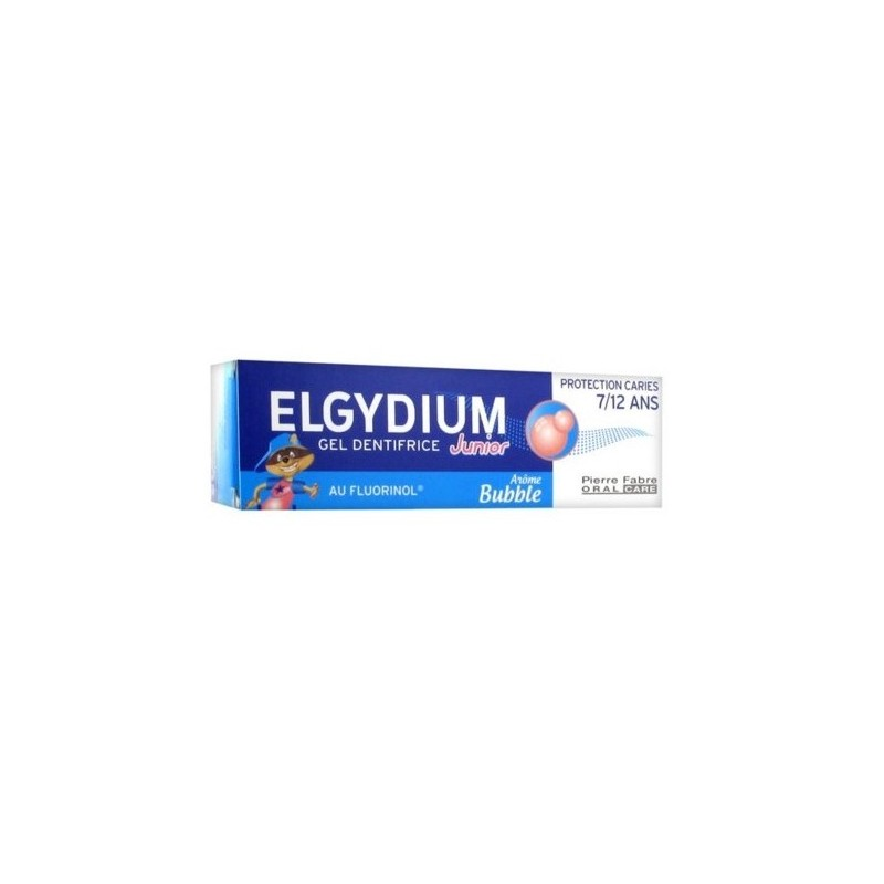 Elgydium Kids Protection caries 7/12 ans Bubble