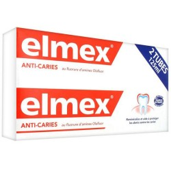Elmex anti-caries lot de 2