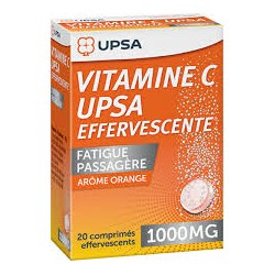Vitamine C 1000 mg 30 comprimés effervescents