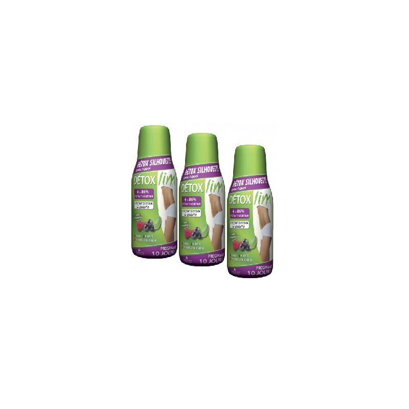 Détoxlim Silhouette 200 ml lot de 3