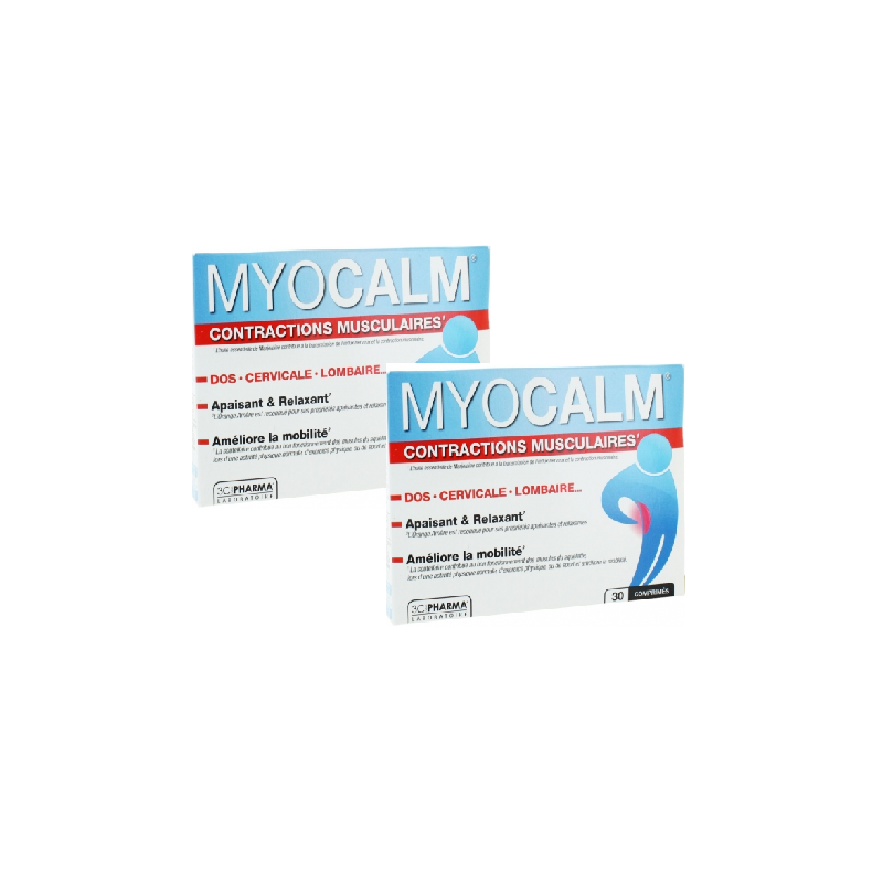 Myocalm 30 cp lot de 2