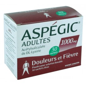 Aspegic 1000 mg 30 sachets