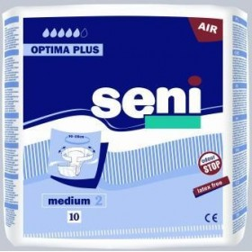 Seni Optima Plus Medium / 10 lot de 8